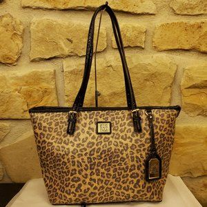 Anne Klein Perfect Cheetah Tote